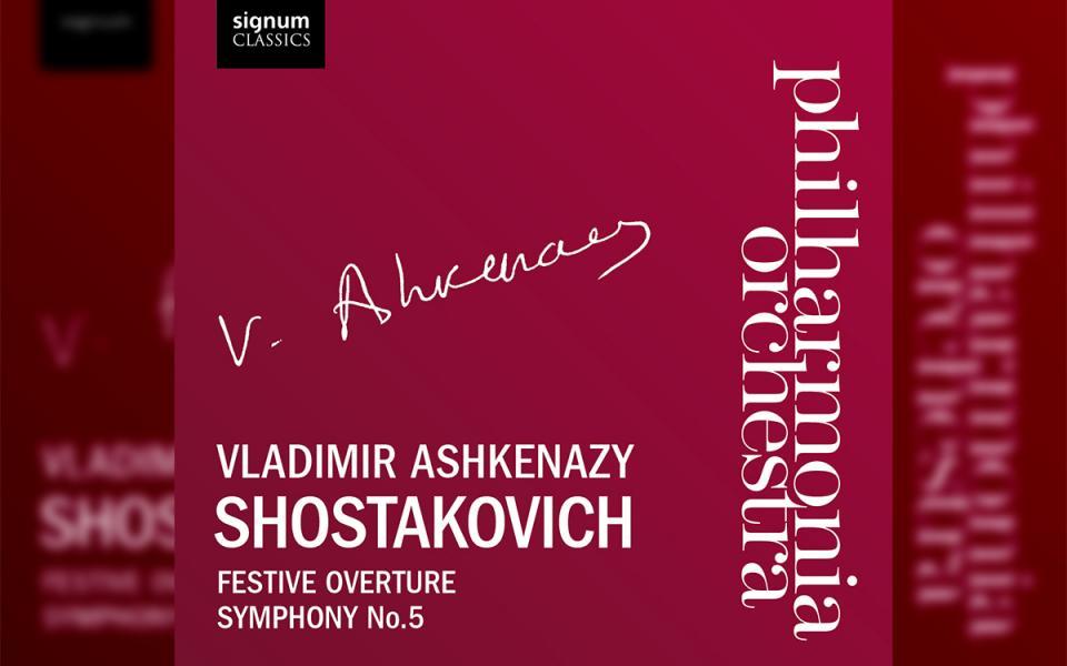 Shostakovich Festive Overture Symphony No.5 Signum CD