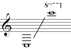 Bass clarinet range