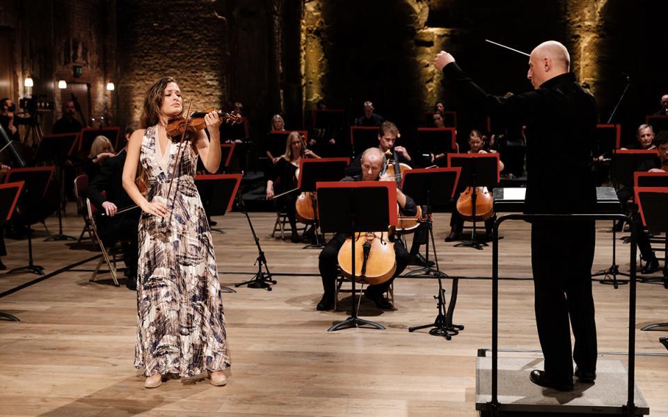 Nicola Benedetti, Paavo Jarvi, Philharmonia Orchestra