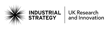 Industrial Strategy | UK Research and innovation logo