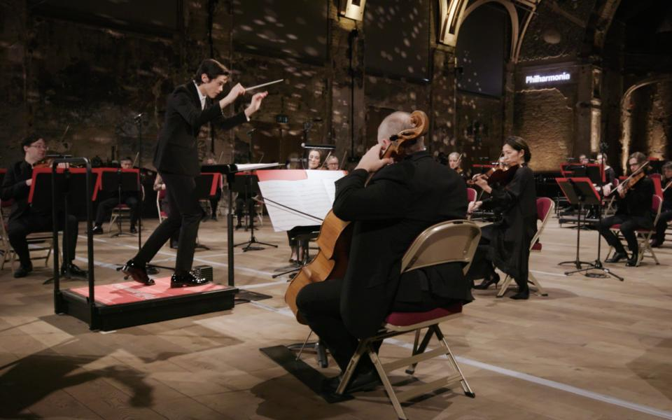 Philharmonia orchestra at Battersea Arts Centre
