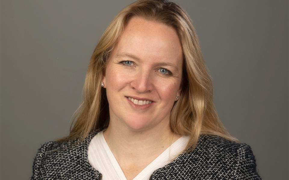 Philharmonia Director of Finance and Operations, Kate Collis