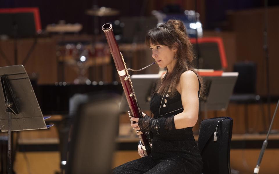 Principal Bassoon Emily Hultmark
