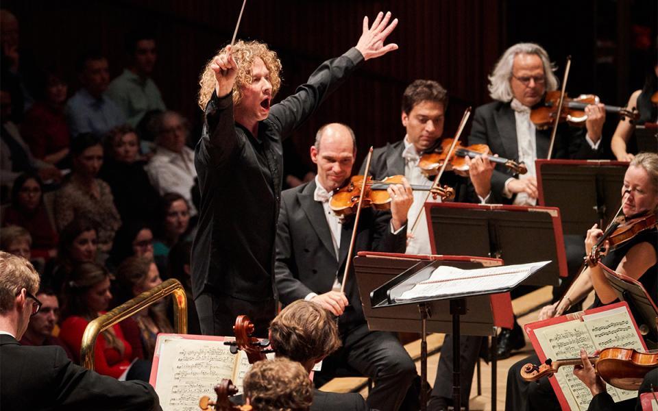Principal Conductor Santtu Matias-Rouvali conducts the Philharmonia